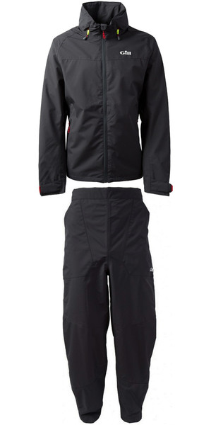 2019 Gill Pilot Jacket IN81J y Pantalón IN81T Combi Set GRAPHITE