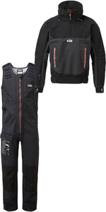2019 Gill Hombres Race Fusion Smock Rs24 Y Salopettes Rs25 Negro