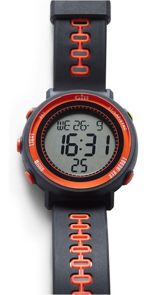 2019 Gill Race horloge Timer Graphite / Tango W013