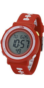 Reloj De Carreras Gill Timer Rojo W013