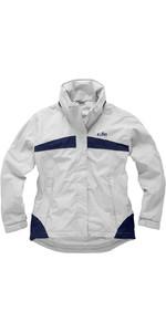Gill Womens Inshore Lite Jacket Silver Grey / Navy IN31JW