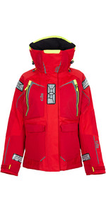 2020 Gill Womens OS1 Offshore Ocean Jacket en rouge OS12JW