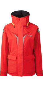 2020 Gill Womens OS3 Coastal Jacket BRIGHT RED OS31JW
