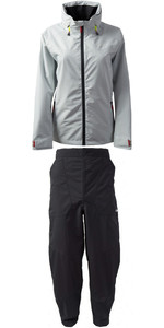 2019 Gill Womens Pilot Jacket IN81JW & Trouser IN81T Combi Set Silver / Graphite