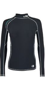2020 Gill Womens Pro Long Sleeve Rash Vest Black 4430W