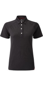 2020 Gill Damen Uv Tec Polo Top Charcoal Uv008w
