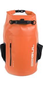 2021 Gul 40L Heavy Duty Dry Backpack LU0120-B9 - Zwart / Oranje