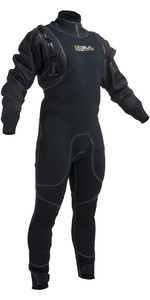2019 Gul Code Zero 4mm Hybrid Neo Semi Drysuit Sort Gm0377-b1