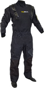 2019 Gul Code Zero Stretch U-Zip Drysuit Schwarz GM0368-B5