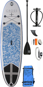2019 Gul Cross 9'8 Paquet Gonflable De Sup Board Cb0029