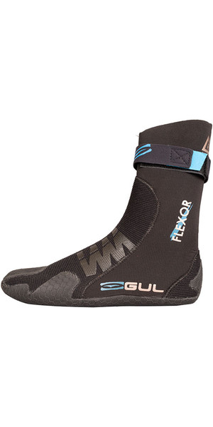 2019 Gul Flexor 5mm Split Toe Wetsuit Boot Schwarz BO1300-B4