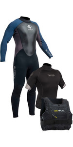 Muta da uomo Gul G-Force 3mm + Xola Rash Vest & Garda Boidancy Aid - Starter Kit