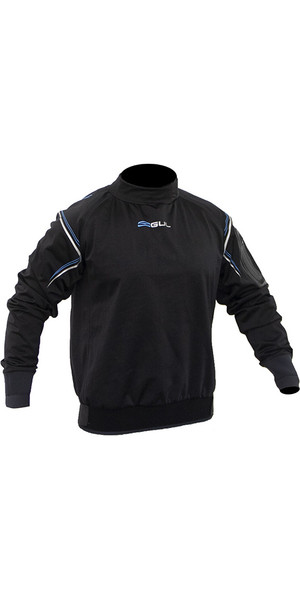 2018 Gul Hydroshield Pro Top Black ST0032-B4