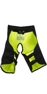 2019 Gul Junior Code Zero Kenetic Hike Pants Negro / Amarillo Gm0060-b2