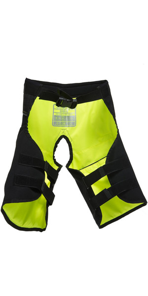 2019 Gul Junior Code Zero Kenetic Hike Pants BLACK / YELLOW GM0060-B2