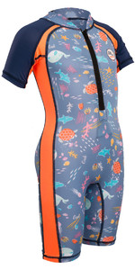 Gul Junior Front Zip Soleil Costume Sealife Rg0349-b4