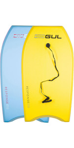 2020 Gul Response Junior Bodyboard Twin Pack - 2 Junior - Light Blue & Yellow