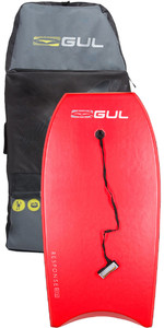 2020 Gul Response Adult 42 Bodyboard Red & Arica Board Bag Bundle Offre