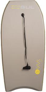 2020 Gul Response Mesh Adult 44 Bodyboard Grey GB0030-B4