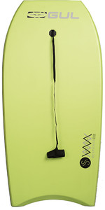 2020 Gul Response Mesh Adult 44 Bodyboard Lime Gb0030-b4
