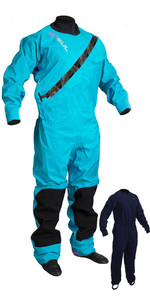 2020 Gul Dartmouth Eclip Zip Drysuit + Underfleece Gm0383-b5 - Azul