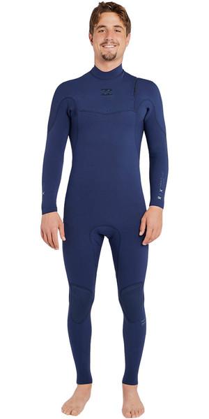2018 Billabong Furnace Comp 3/2mm Zipperless Wetsuit HEATHER BLUE H43M11