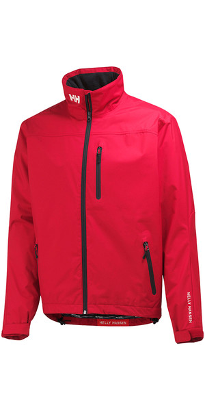 2019 Helly Hansen Crew Jacket RED 30263