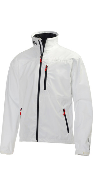 2018 Helly Hansen Crew Jacket WHITE 30263