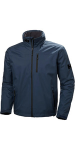 2019 Helly Hansen Hooded Crew Mid-laag Jas Graphite Blue 33874