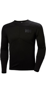 2019 Helly Hansen Lifa Aktivt Crew Långärmad Base Layer Black 48308
