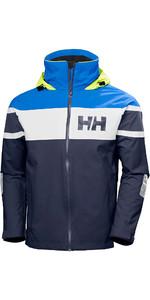 2021 Helly Hansen Dos Homens Salt Jaqueta Vela Flag 33909 - Clássico Navy