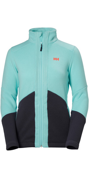 2018 Helly Hansen Damen EQ Black Midlayer Jacke GLACIER 51796