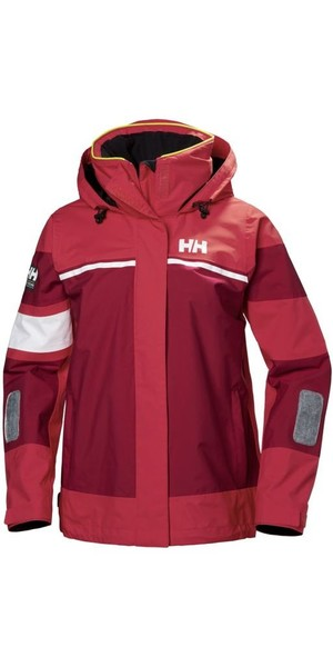 2019 Helly Hansen Womens Salt Light Jacket Cardinal 33925