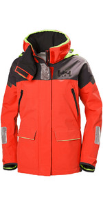2019 Helly Hansen Kvinders Skagen Offshore Jacket Alert Red 33920