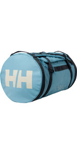 2020 Helly Hansen 50L Duffel Bag 2 68005 - Tundra Blue