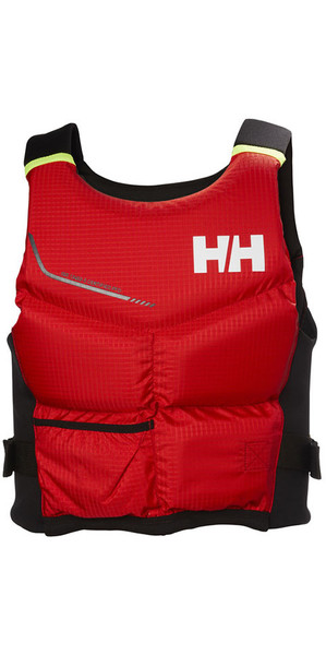 2018 Helly Hansen 50N Rider Stealth Vest / Buoyancy Aid Alert Red 33808