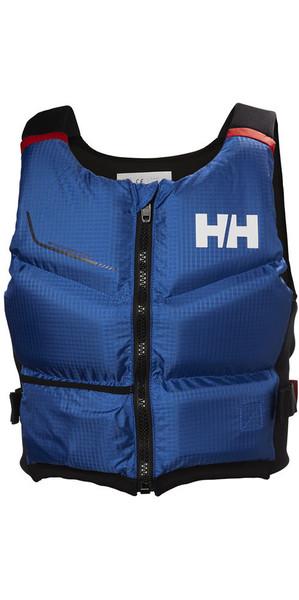 2018 Helly Hansen 50N Rider Stealth Zip Bouyancy Aide Olympique Bleu 33841