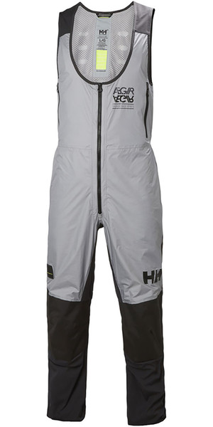 2018 Helly Hansen Aegir H2FLOW Salopettes Ebony 33906