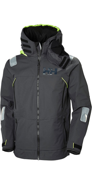 2019 Helly Hansen Aegir Race Jacket Ebony 33869