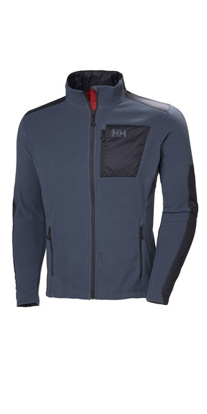 2019 Helly Hansen Breeze Fleecejacke Vintage Indigo 51776
