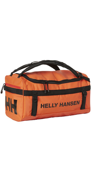 2018 Helly Hansen 30L Classic Duffel Bag 2.0 XS Spray Orange 67166