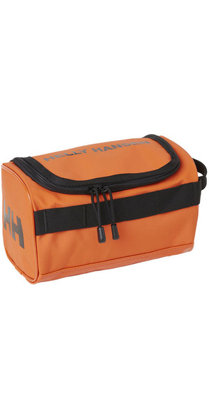 2018 Helly Hansen Classic Wash Bag Spray Orange 67170