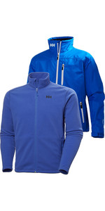 Helly Hansen Mens Crew Jacket & Daybreak Fleece Pakke - Olympian Blue