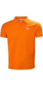 2019 Helly Hansen Drivline Polo Shirt Blaze Orange 50584