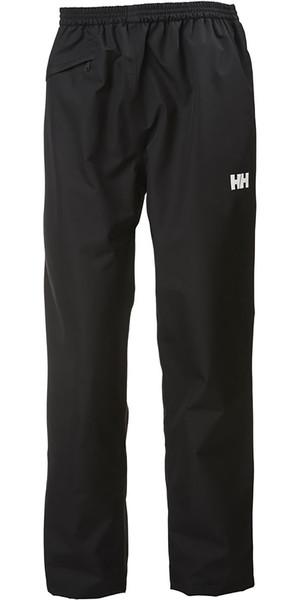 2019 Helly Hansen Dubliner Sailing Pantaloni Nero 62652