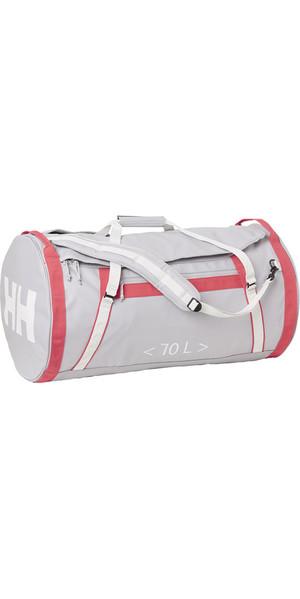 2018 Helly Hansen HH 70L Duffel Bag 2 Silver Grey 68004