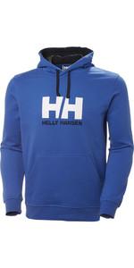 2019 Helly Hansen HH Logo Hoodie Olympian Blue 33977