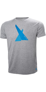 Helly Hansen Hp Shore Camiseta Gris Melange 53029