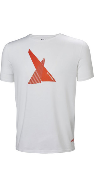 2019 Helly Hansen HP Shore T-Shirt Weiß 53029