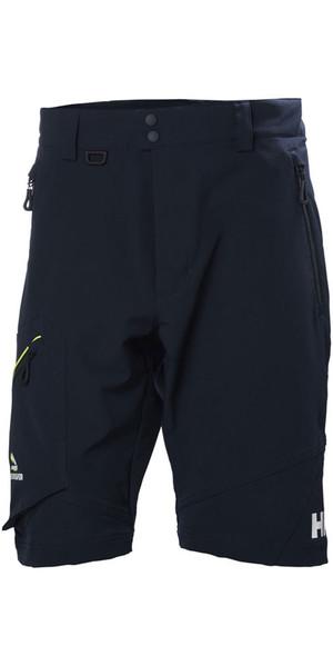 2018 Helly Hansen HP Softshell Shorts Navy 53052